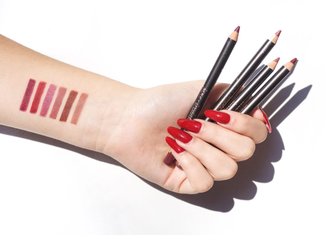 Jane Iredale Lip Liner Swatches