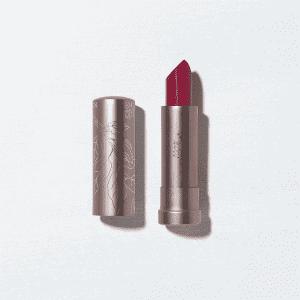 100% Pure Semi-Matte Lipstick in Currant