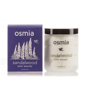 Osmia Organics Sandalwood Body Mousse