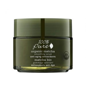 Organic Matcha Anti-Aging Antioxidants Smoothing Scrub
