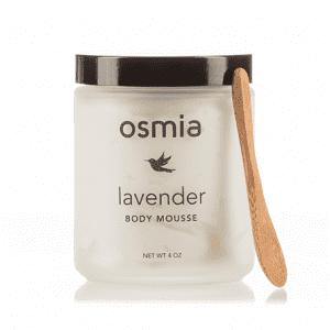 Osmia Organics Body Mousse in Lavender