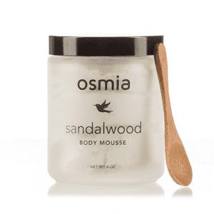 Osmia Organics Body Mousse in Sandalwood