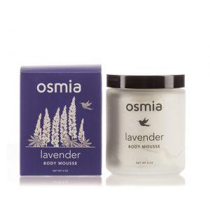 Osmia Organics Lavender Body Mousse