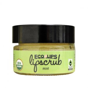 Eco Lips Lip Scrub in Mint