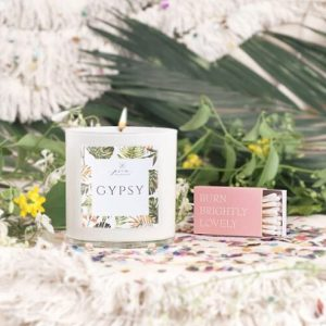 Prim Botanicals Gypsy Candle + Matches