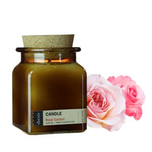 Thesis Organic Candle in rose