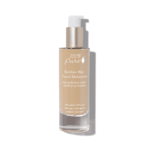 100% Pure Bamboo Blur Tinted Moisturizer in 3- Sand