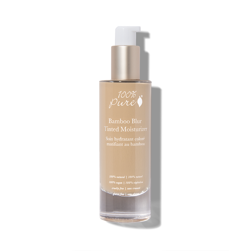 100 Pure Bamboo Blur Tinted Moisturizer In 3 Sand