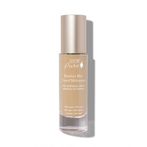 100% Pure Bamboo Blur Tinted Moisturizer in 5- Golden Peach