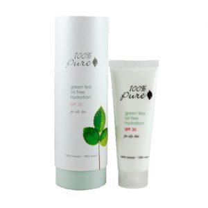 100% Pure Green Tea Oil Free SPF 30
