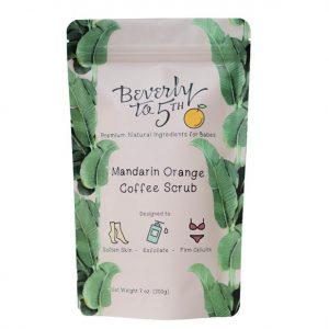Beverly to 5th Organic Coffee Scrub in Mandarin Orange