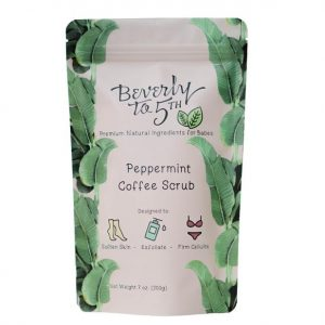 Beverly to 5th Organic Coffee Scrub in Peppermint