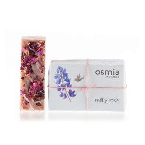 Osmia Organics Milky Rose Soap