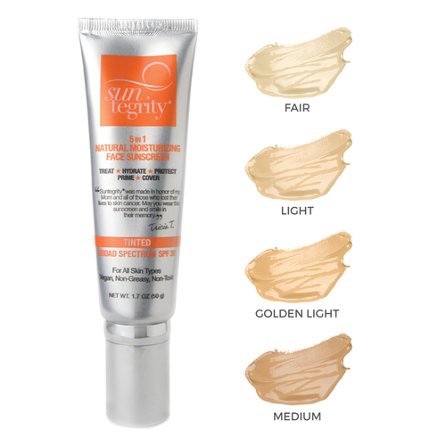 Suntegrity Spf30 Tinted Moisturizer In 3 Golden Light