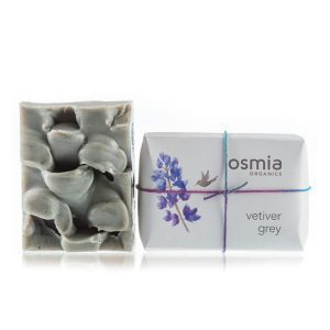 Osmia Organics Vetiver Grey Soap