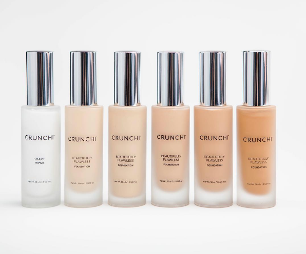 Crunchi Beautifully Flawless Foundation Samples Organic