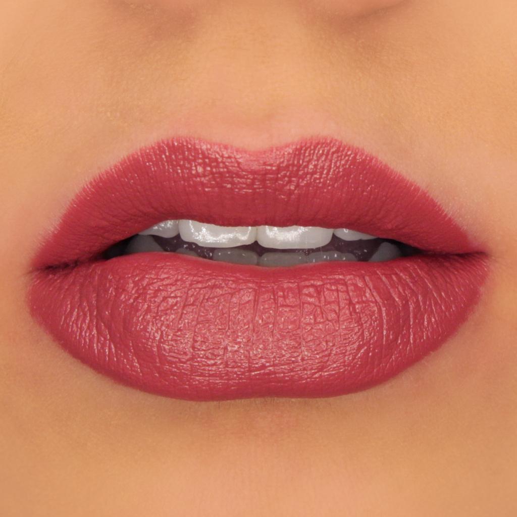 100 Pure Semi Matte Lipstick In Winecup Organic Bunny