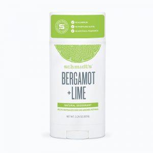 Schmidt's Deodorant- Bergamot + Lime