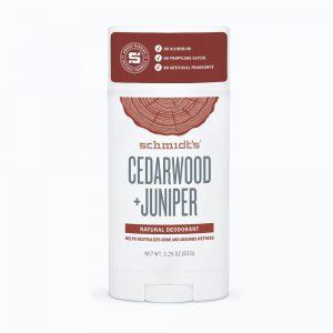 Schmidt's Deodorant- Cedarwood + Juniper