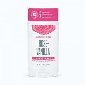 Schmidt's Deodorant- Rose + Vanilla