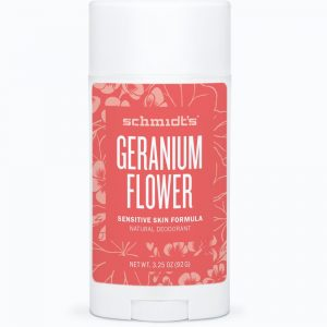 Schmidt's Sensitive Deodorant- Geranium Flower