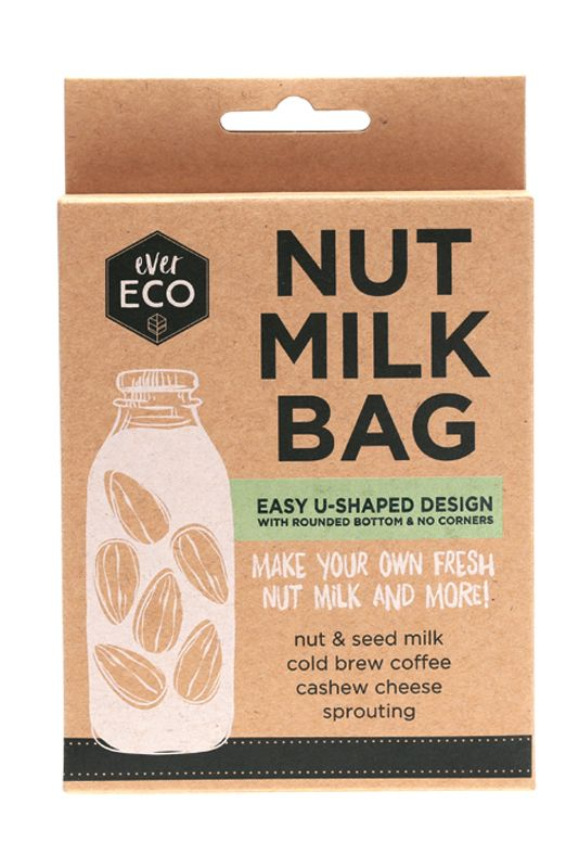 Ever Eco Reusable Nut Milk Bag Organic Bunny