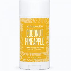 Schmidt's Sensitive Deodorant- Coconut Pineapple