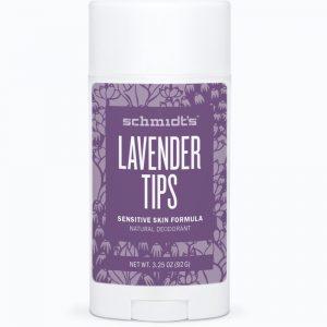 Schmidt's Sensitive Deodorant- Lavender Tips