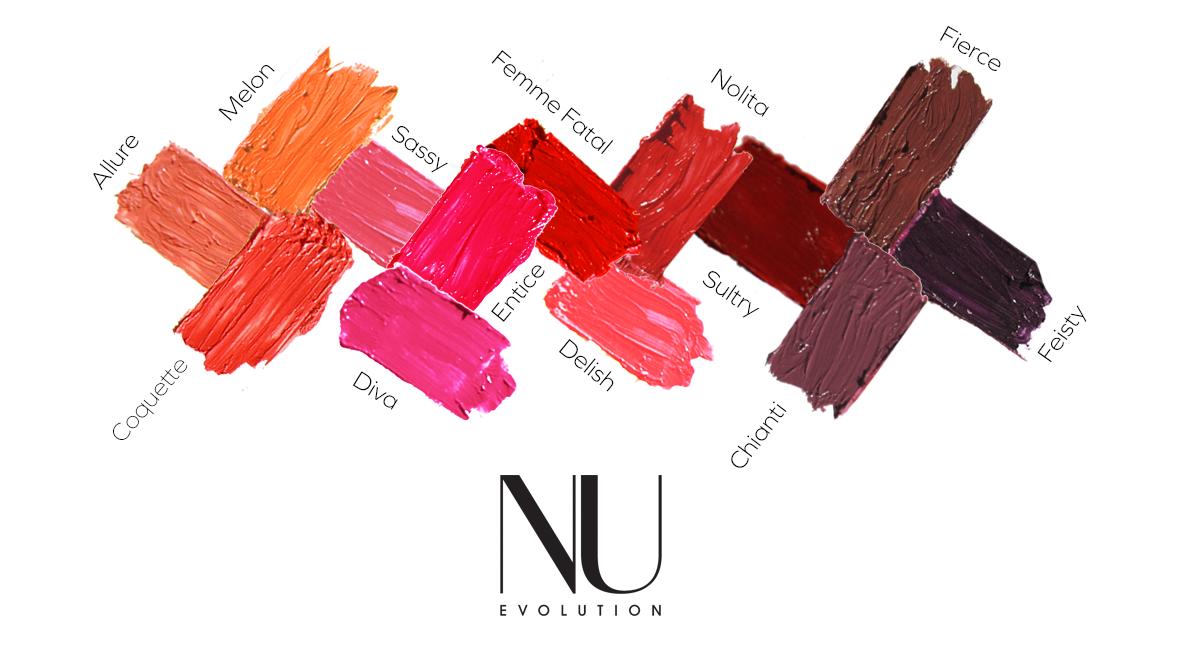 Nu Evolution Lipstick In Sassy Organic Bunny