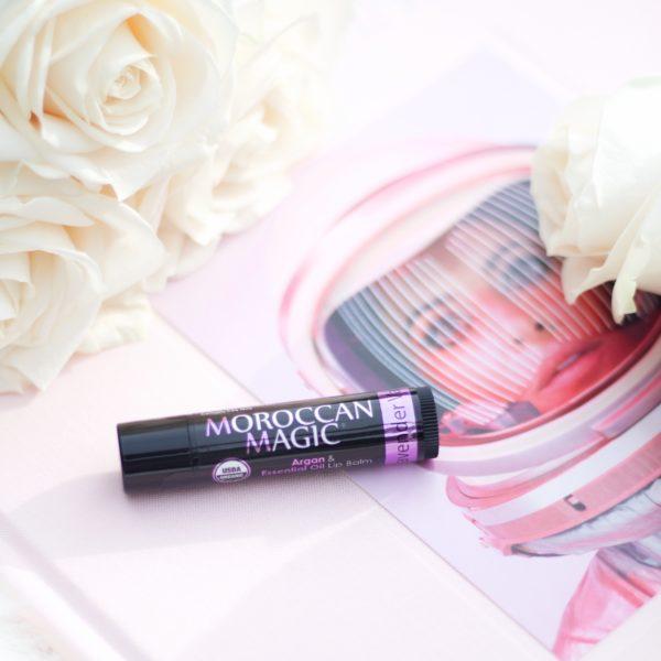 Moroccan Magic Lip Balm In Lavender Vanilla Organic Bunny